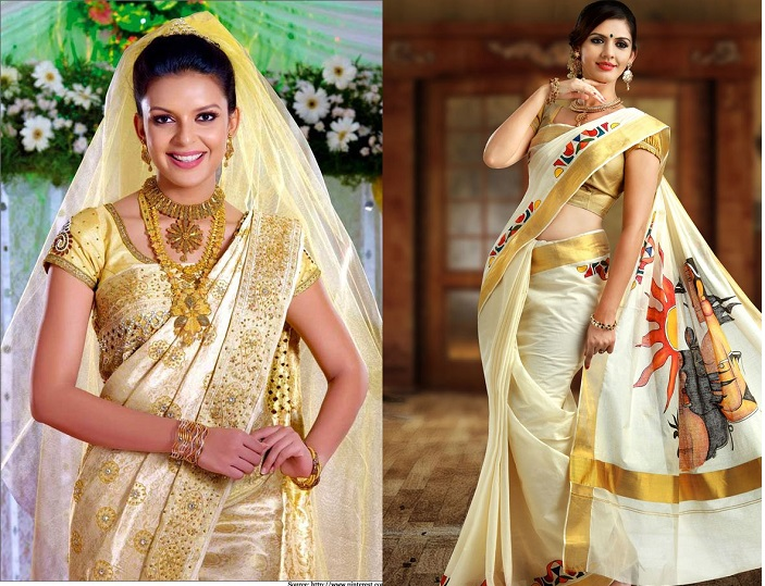 Chic Wedding Sarees For 2015 Brides Weddingsonline Ae