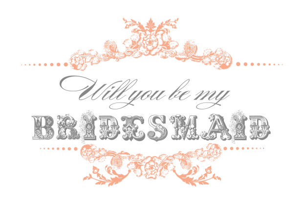 photograph about Will You Be My Bridesmaid Free Printable identify Be My Bridesmaid? 9 Stylish Artistic Techniques in the direction of Talk to