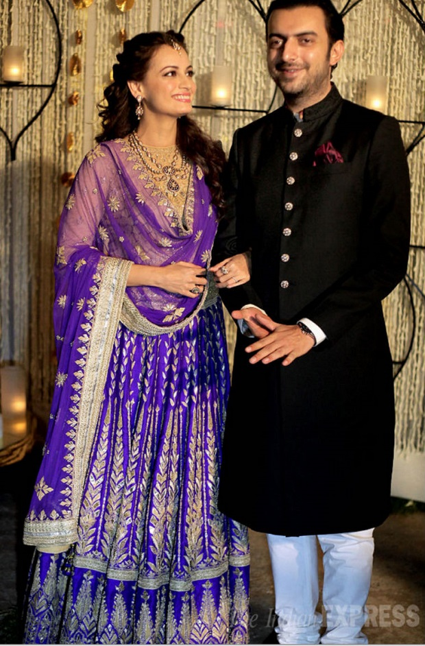 Dia Mirza Sangeet night