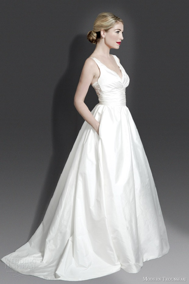 12 dreamy wedding dresses with pockets for High low ball gown wedding dress