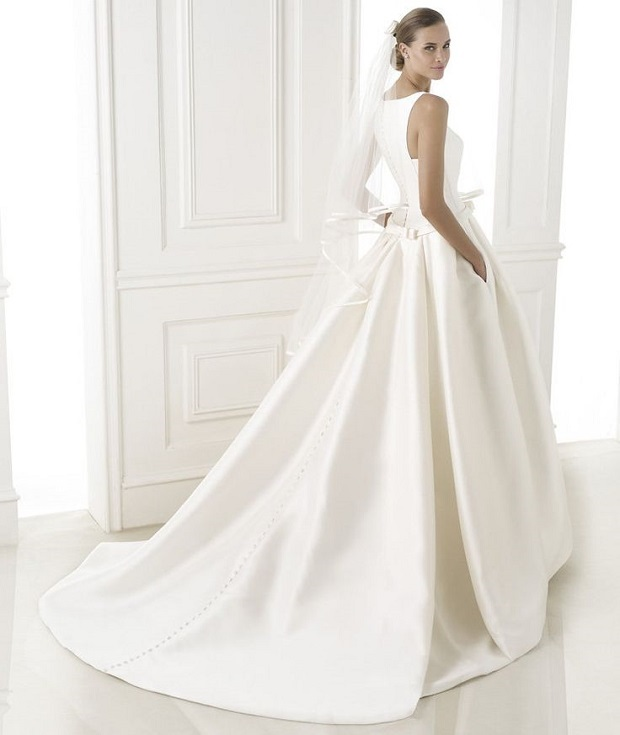 12 Dreamy Wedding Dresses With Pockets