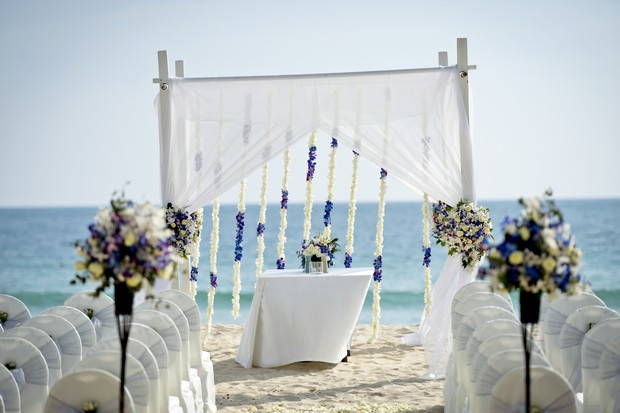 A Dreamy Destination Beach Wedding In Thailand