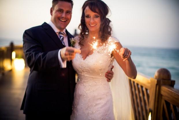 bride-and-groom-weddin-sparklers-outdoors