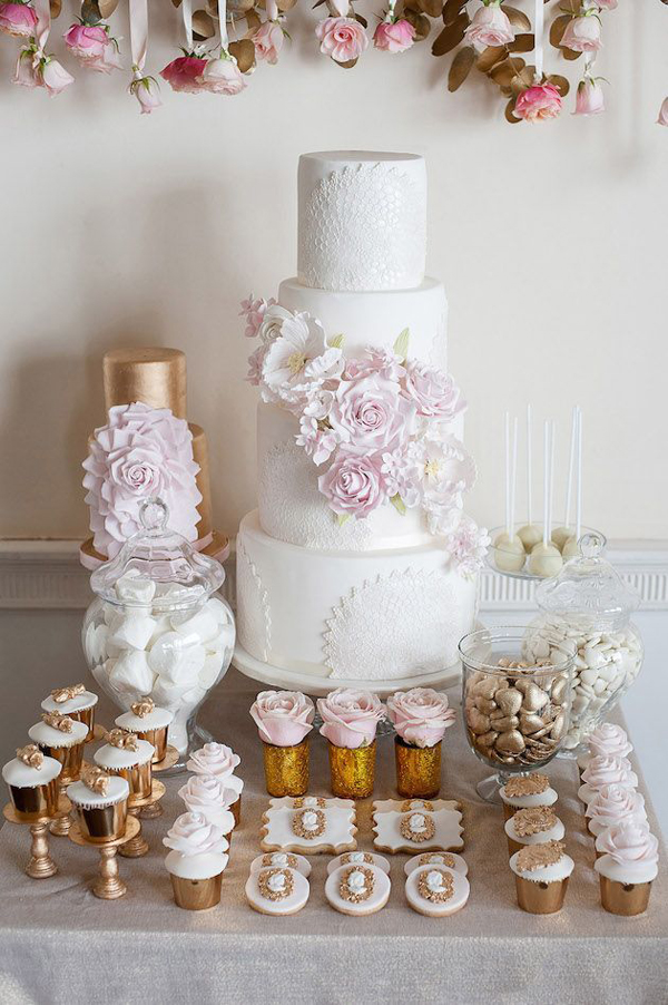 Cake Table Ideas For Weddings : 10 Divine Dessert Table Ideas weddingsonline.ae