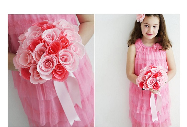wedding flowers for flower girls