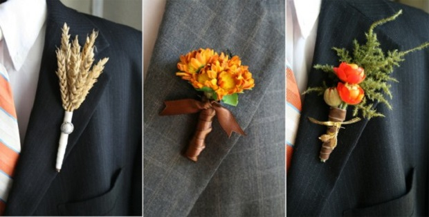 boutonnieres flower grooms