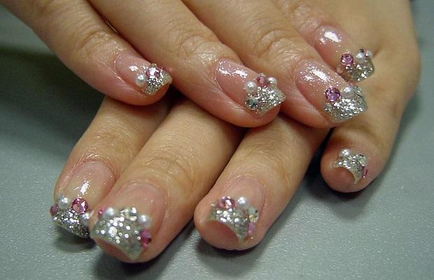 Nail art trends 2015 bridal nail accessories
