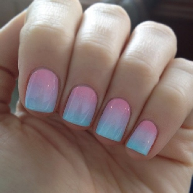 ombre nails-Nail art trend 2015