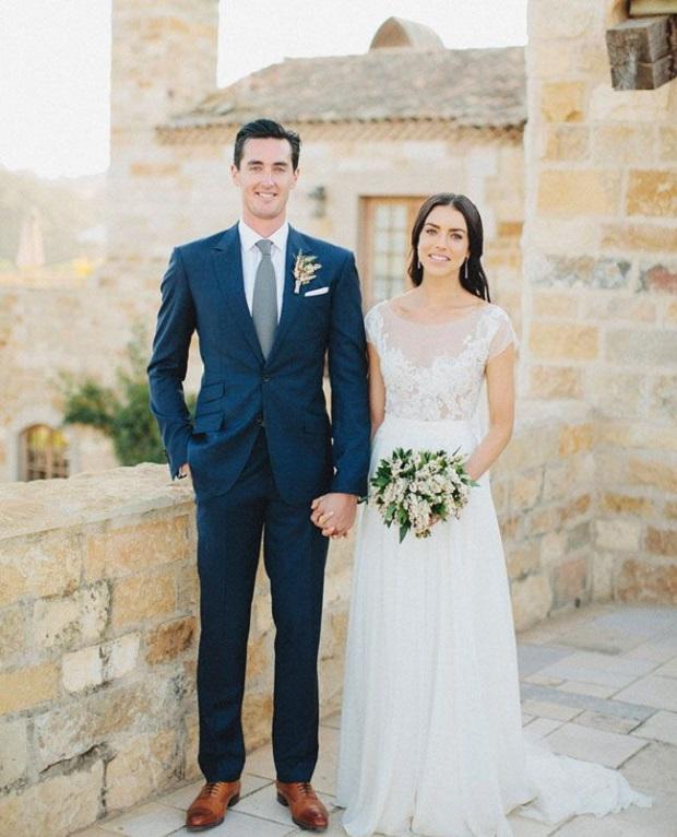 Real wedding UAE groom and bride