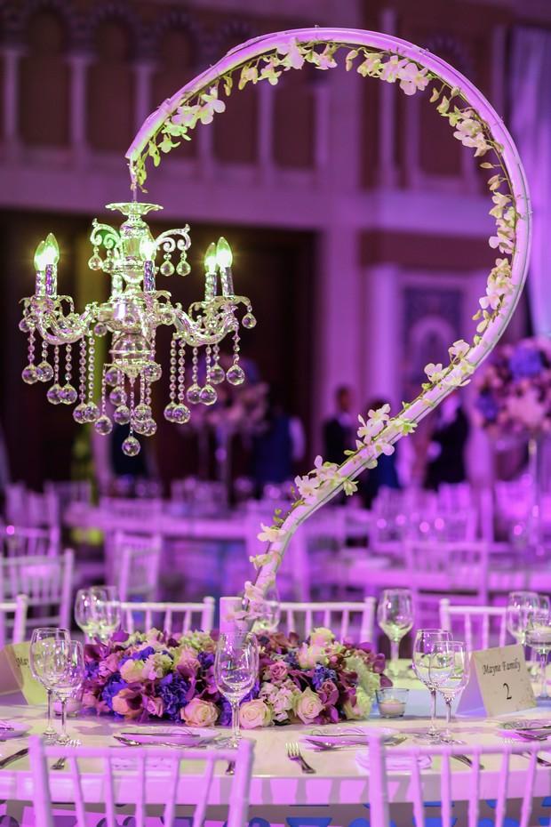 A dazzling wedding celebration at mina asalam dubai weddingsonline reception decor real wedding dubai junglespirit Choice Image