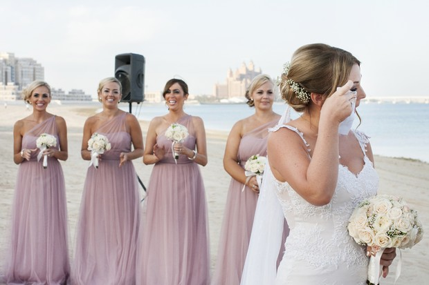 pink-dresses-uae-bridesmaids