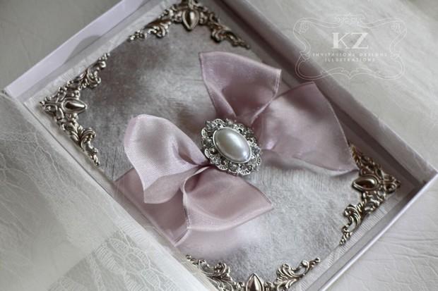 pink-silver-wedding-invite