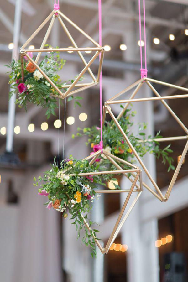 Wedding Decor Trend Hanging Flowers Weddingsonline