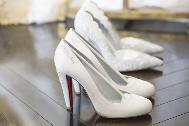 Nicky Hilton wedding shoes