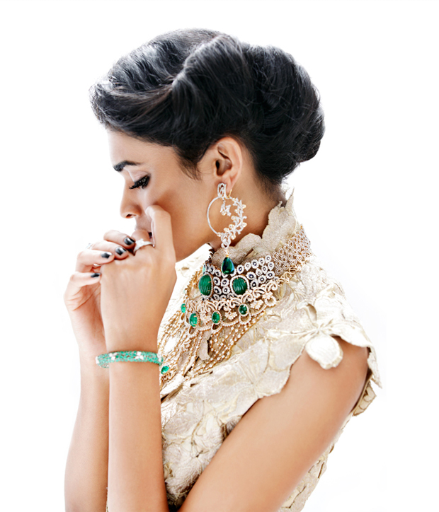 glamorous-indian-wedding-hairstyle