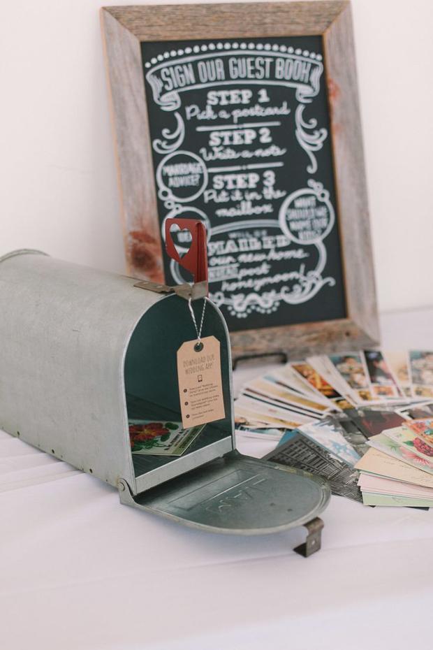 travel-theme-wedding-ideas-mailbox-and-postcards