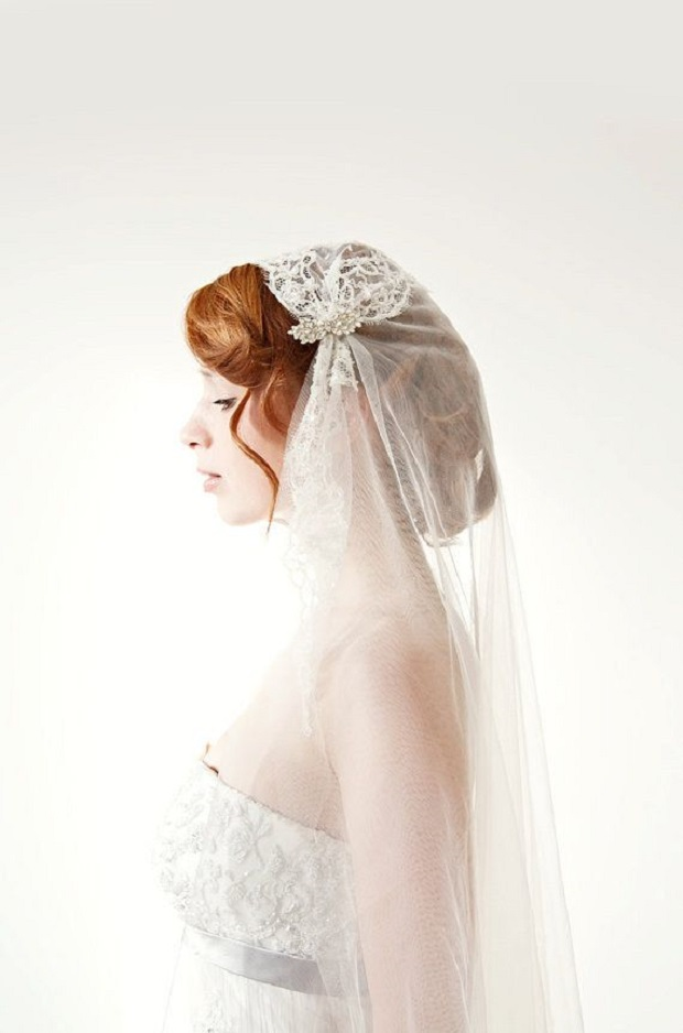 juliet cap wedding veils via buzzfeed