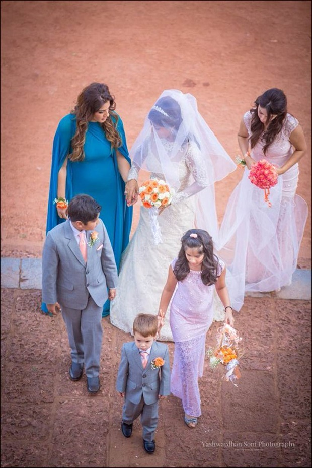 Raveena Tandon daughter wedding pics