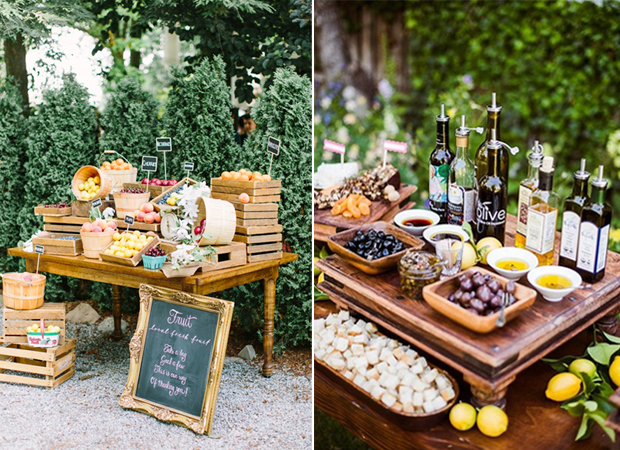 5 great wedding catering trends for 2016 for Wedding canape alternatives