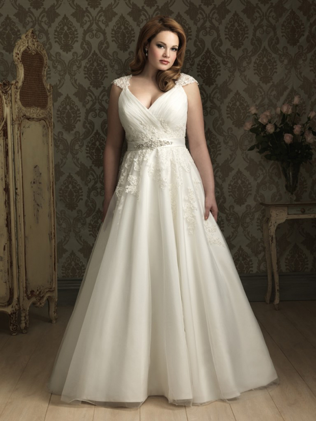 10 Stunning Plus Size Wedding Dresses