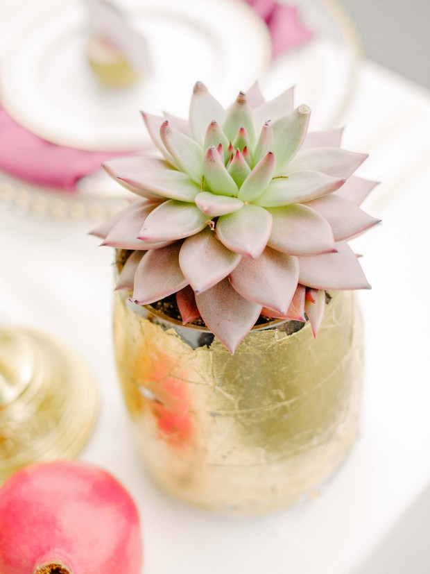 luxurious-wedding-photo-shoot-UAE-succulent-plant-table-decor