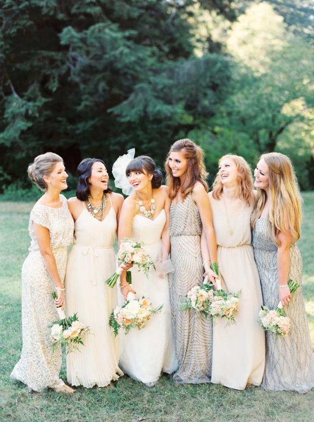 mix-and-match-bridesmaid-dresses-nude-and-metallics