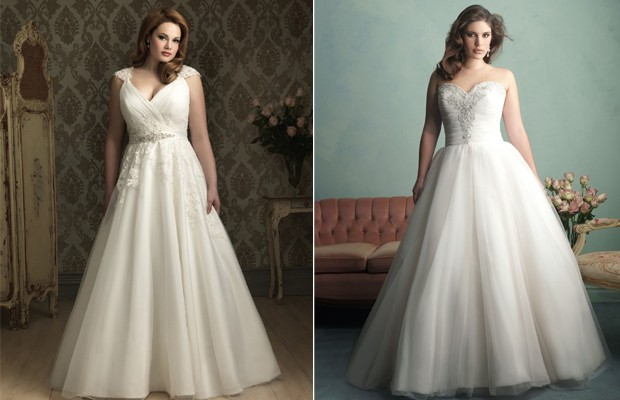 Shopping and Styling tips for plus size brides