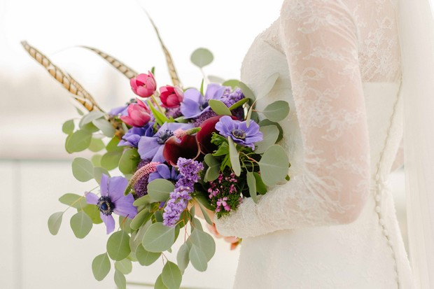 wildflower-bridal-bouquet-UAE-weddings