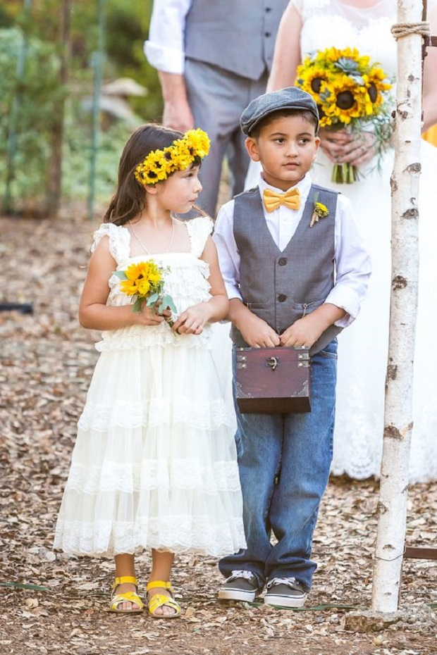 ring bearer flower girl ideas to steal