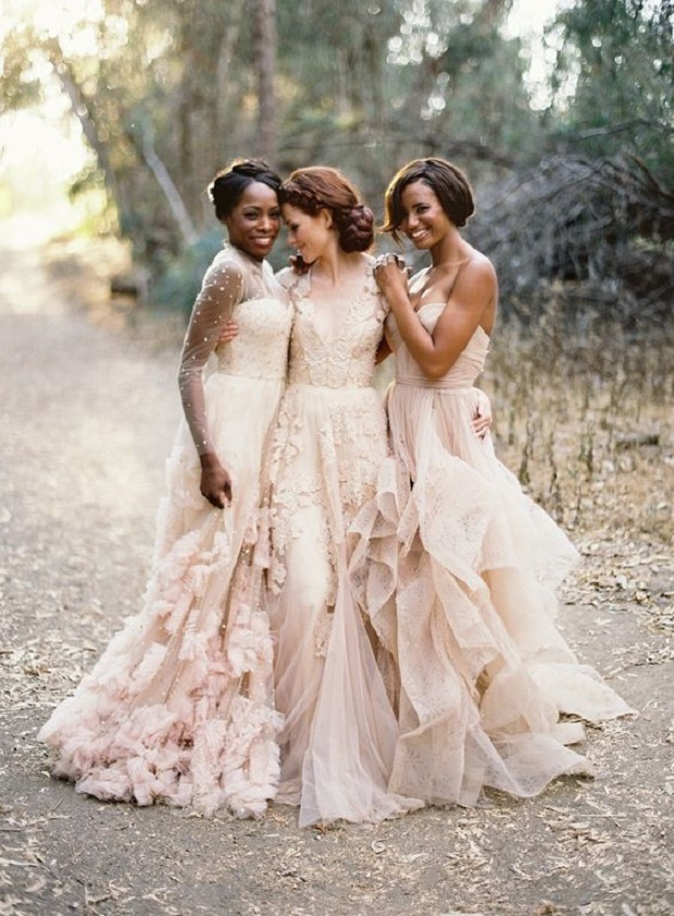 Blush Toned Wedding Dresses