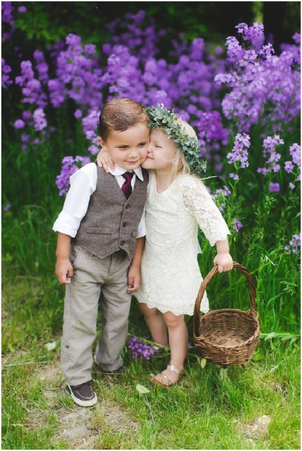 Ring Bearer And Flower Girl Ideas