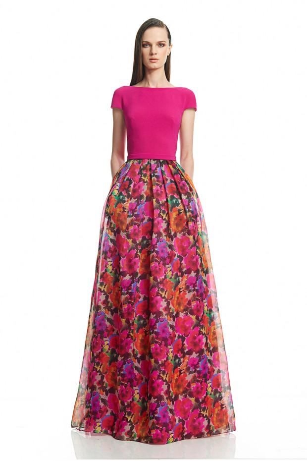 pink-floral-full-length-wedding-dress-the-bridal-showroom-UAE