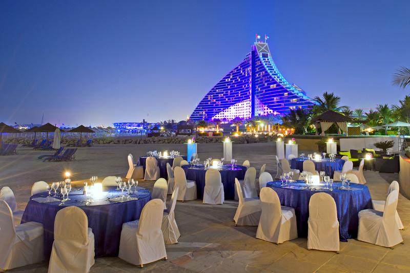 Jumeirah Beach Hotel - Executive Pool Terrace set up1