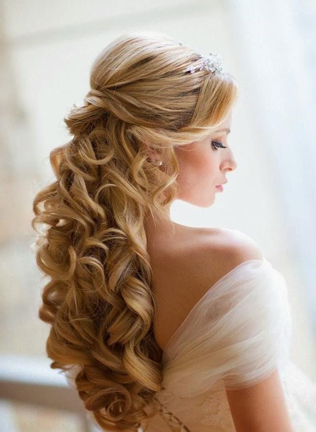 half-up-half-down-wedding-hairstyle-curls
