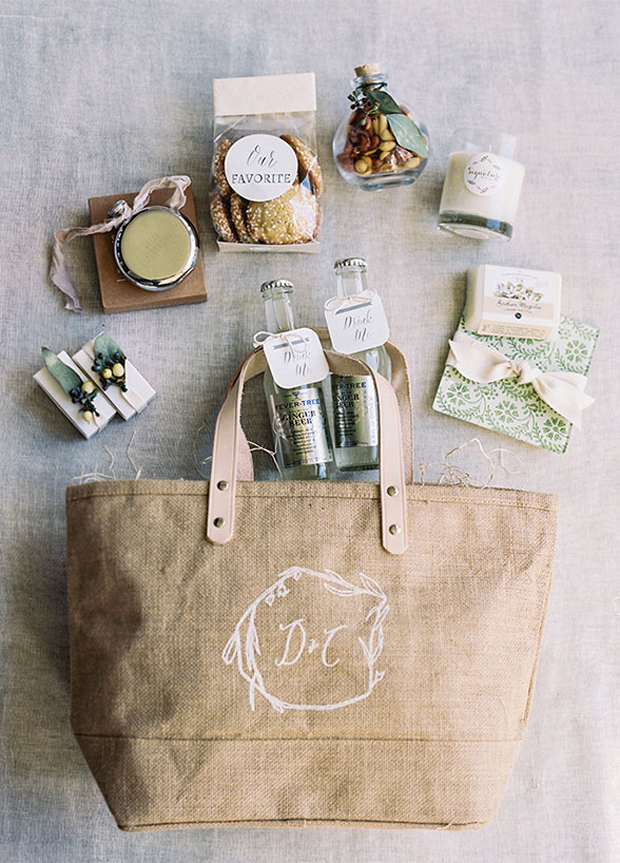 Wedding Welcome Bags Your Guests Will Love weddingsonlineae