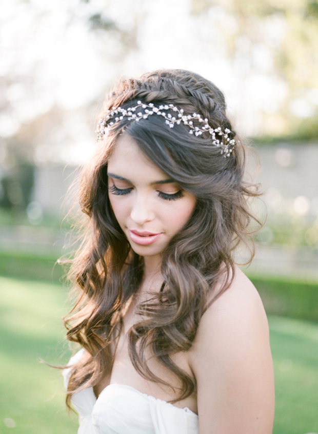 10 of the best half up half down wedding hairstyles with ...