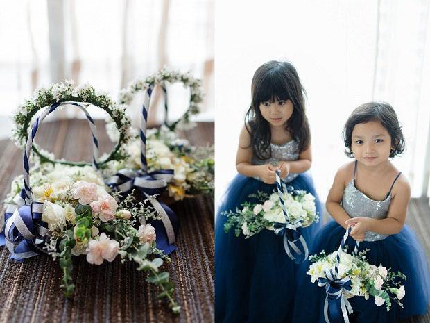 Ecelaine's flower girls