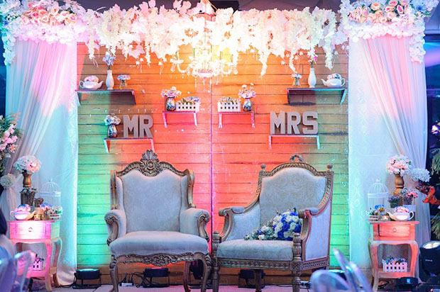 Ecelaine and Jovan's Wedding chairs