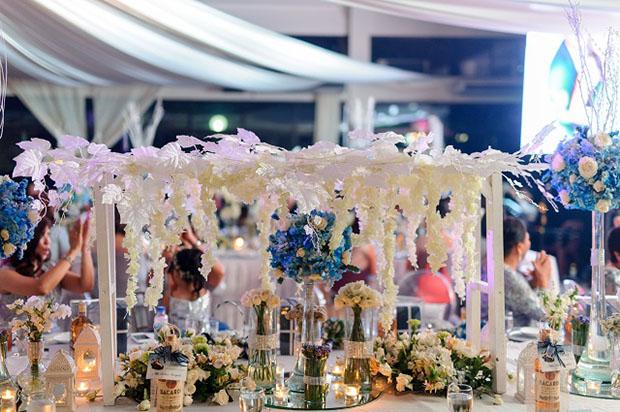 Ecelaine and Jovan's wedding venue