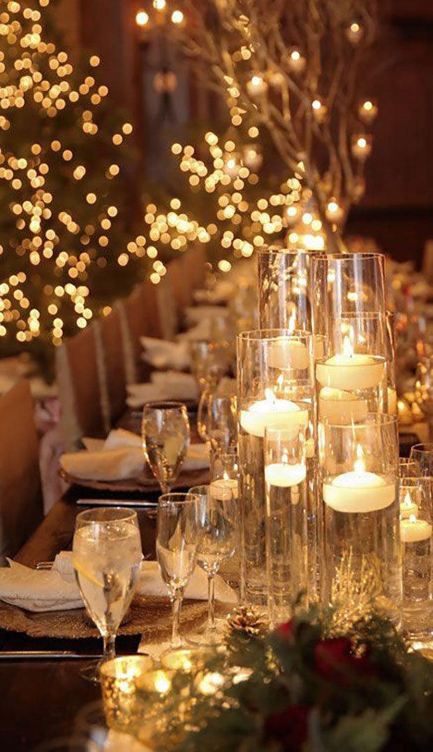Decor Christmas Theme Bridal Shower
