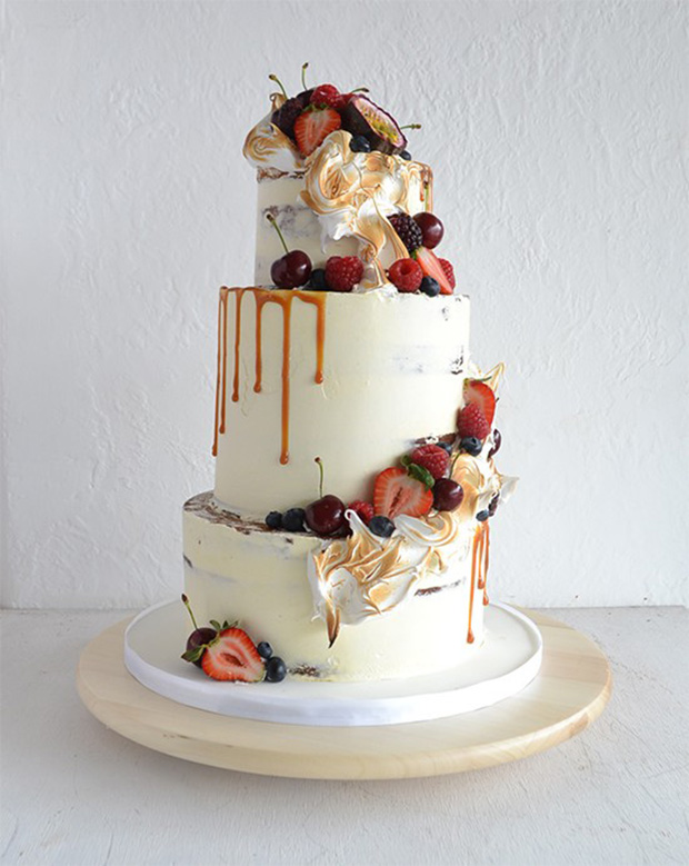 Polka Dot Cake Stand