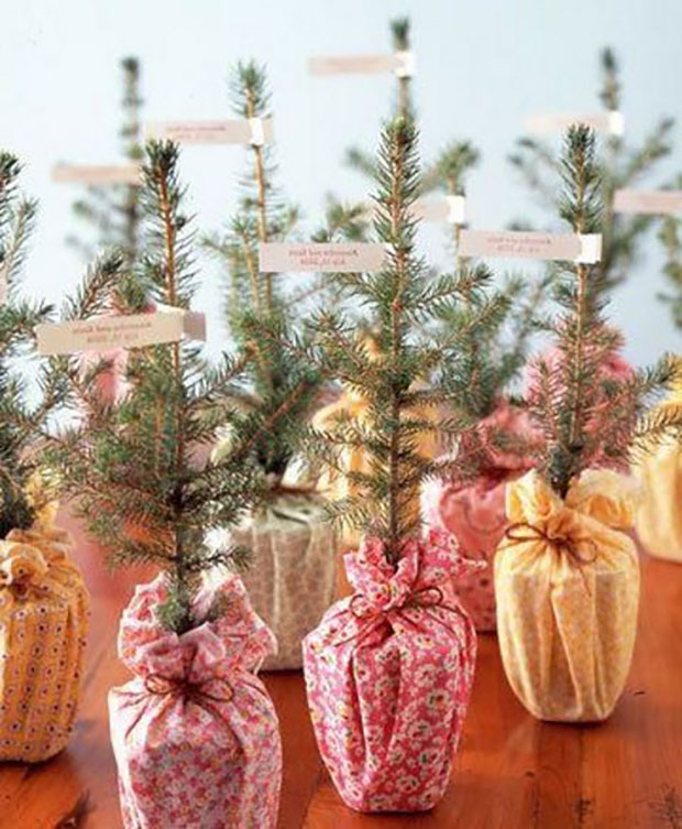 Bridal Shower Favour Christmas Theme