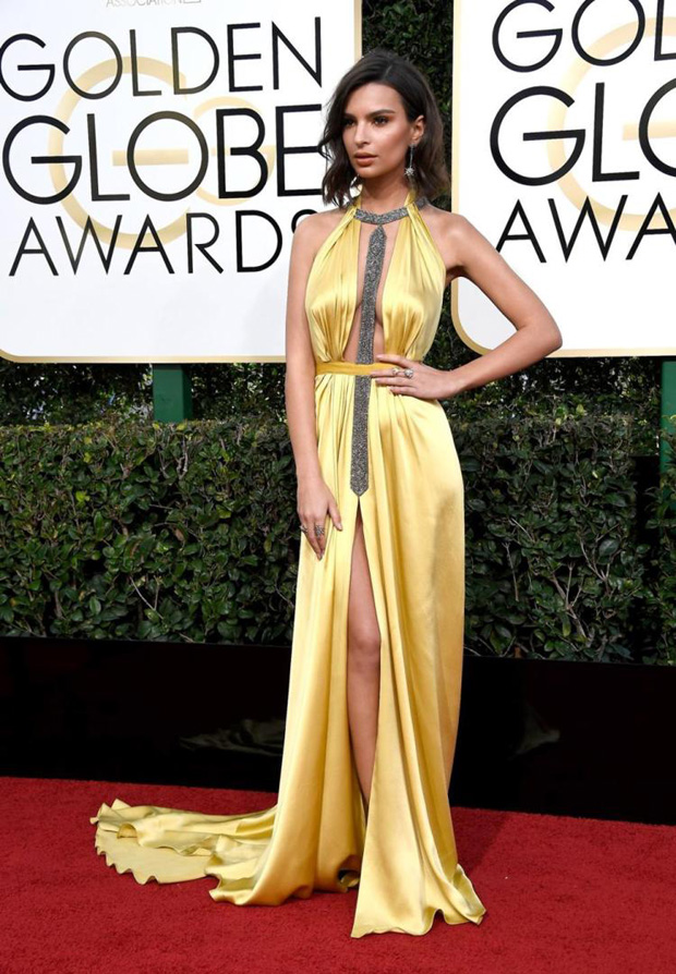 Emily Ratakowski Golden Globes