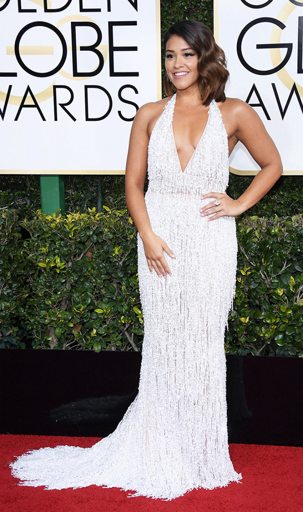 Gina Rodriquez Golden Globes