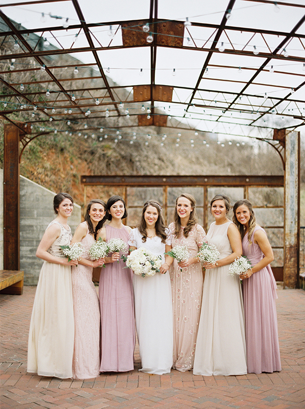 Mix and match bridesmaid dress inspiration