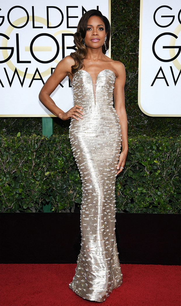 aomie Hariss Golden Globes