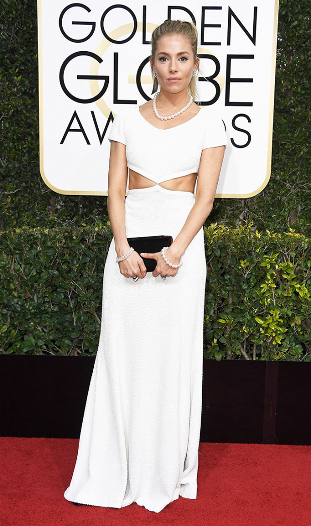 Sienne Miller Golden Globes