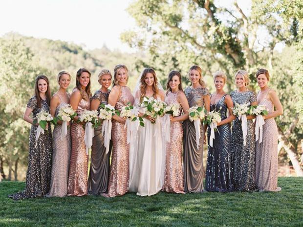 Mix & Match bridesmaid trend