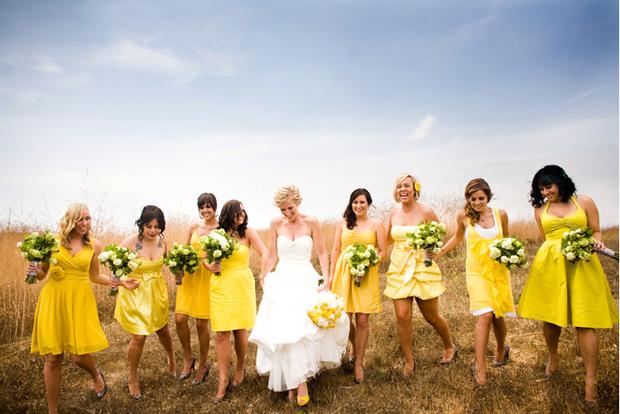 mix match bridesmaid 2017 trend