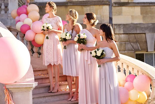 mix & match m&s bridesmaid dress trend 2017